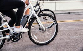 Trek Lift + Pedal Assist E- Bike at Hall Bicycle Company, Cedar Rapids, Iowa