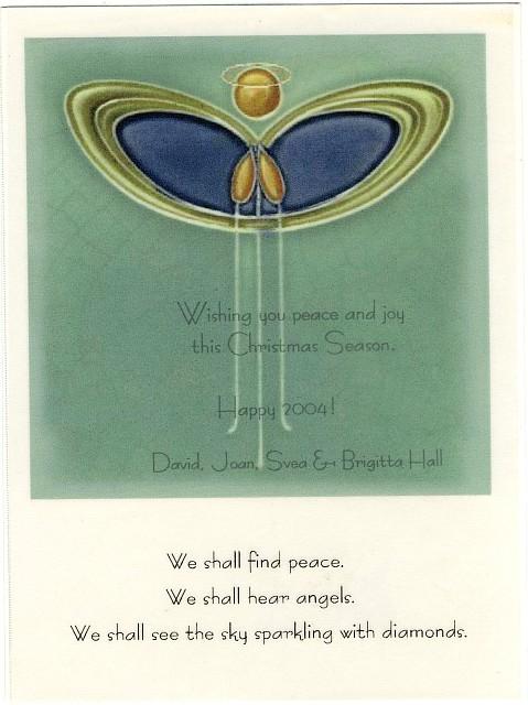 Joans Handmade Christmas Cards