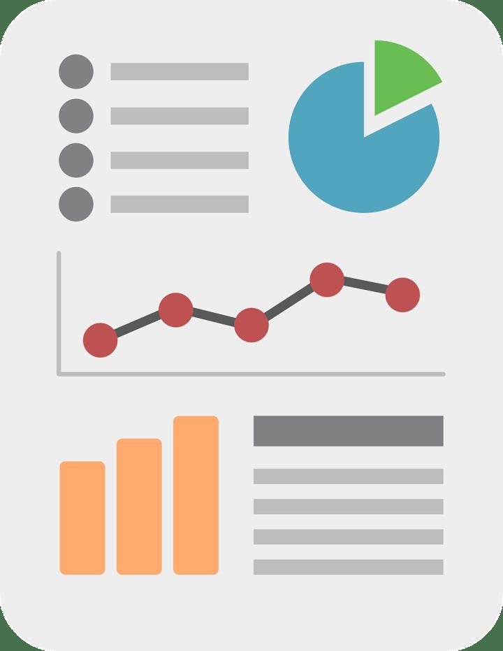 Infografiken für eine visuelle Darstellung von Sachinformationen