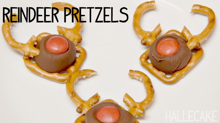 reindeer pretzel candy