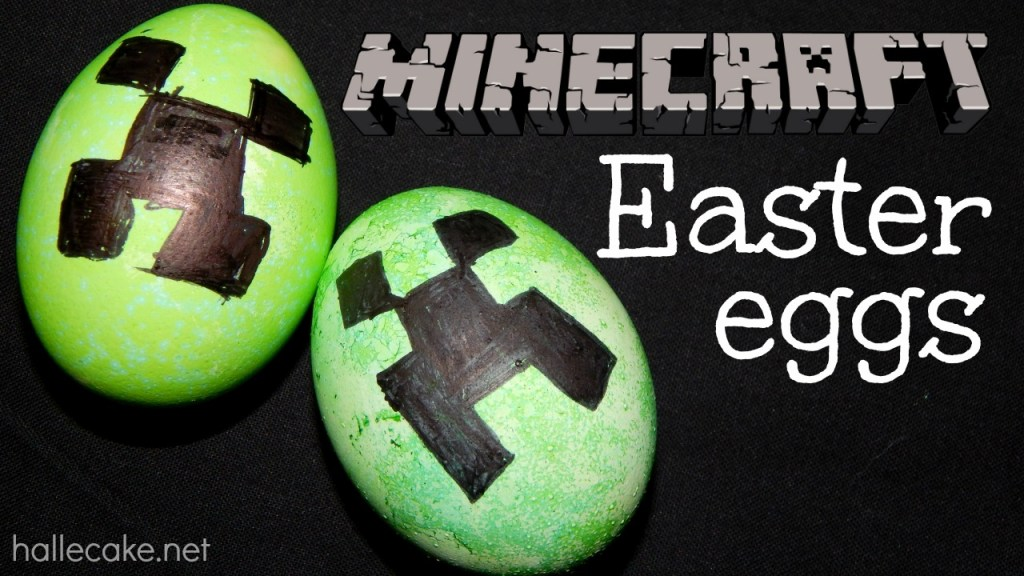 How To Make a Minecraft Creeper Easter Egg