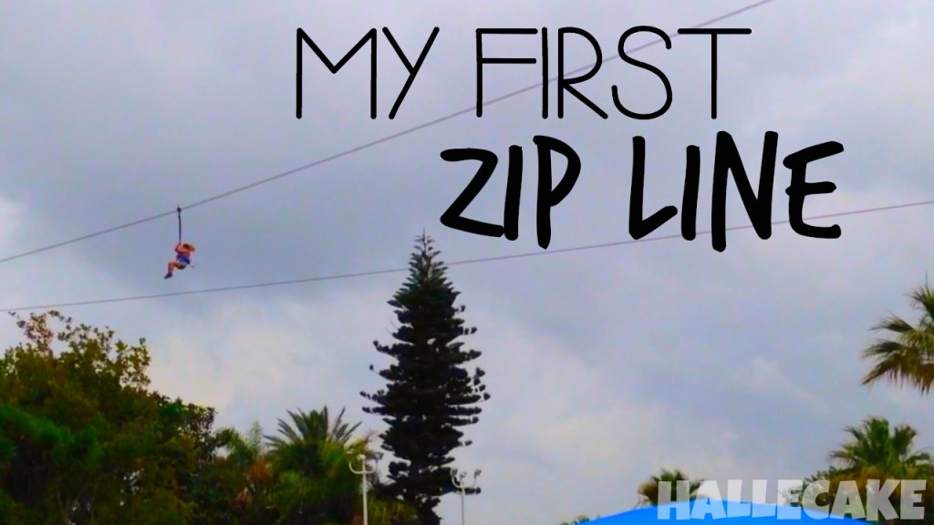 I Went Zip Lining!