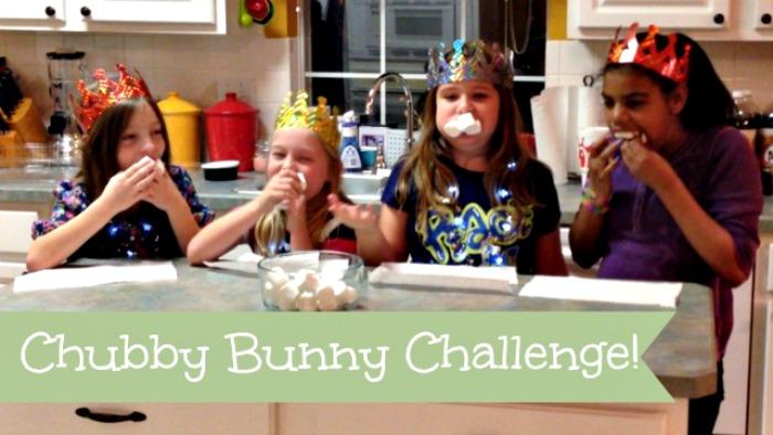 The Chubby Bunny Challenge