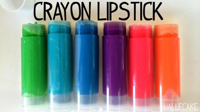 Make Your Own Crayola Lipstick