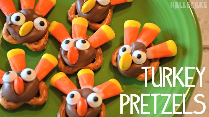 How To Make Thanksgiving Turkey Pretzels