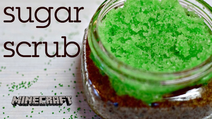 How To Make Minecraft Dirt Sugar Scrub