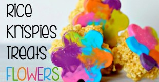 Rice Krispies Treats Flowers