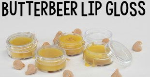 Make Butterbeer Lip Gloss