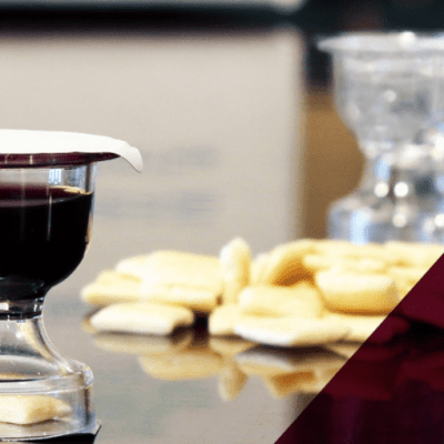 Everything You Need To Know About The Prefilled Communion Cups With Bread & Wine