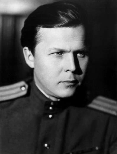 А.Т.Твардовский. Фото, 1945 г.