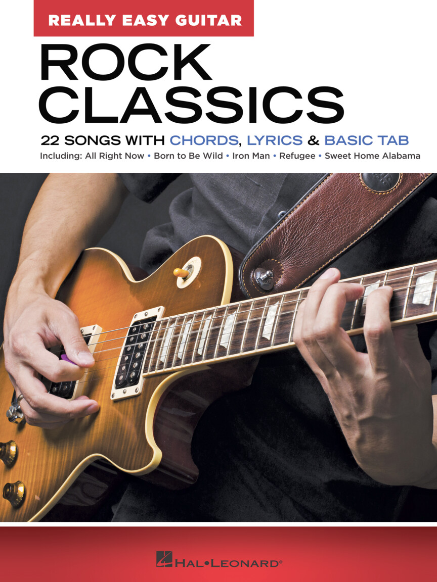 Create and get +5 iq. Rock Classics Really Easy Guitar Series 22 Songs With Chords Lyrics Basic Tab Hal Leonard Online
