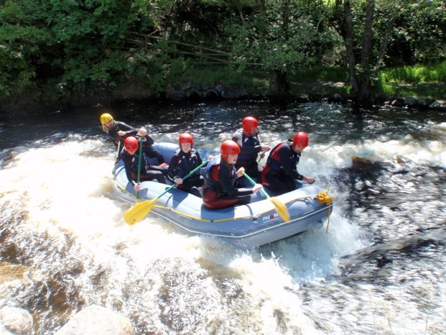 White Water rafting is one of the MUST DO activities in North Wales
