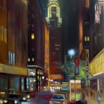 Chrysler Building Art, New York City Print