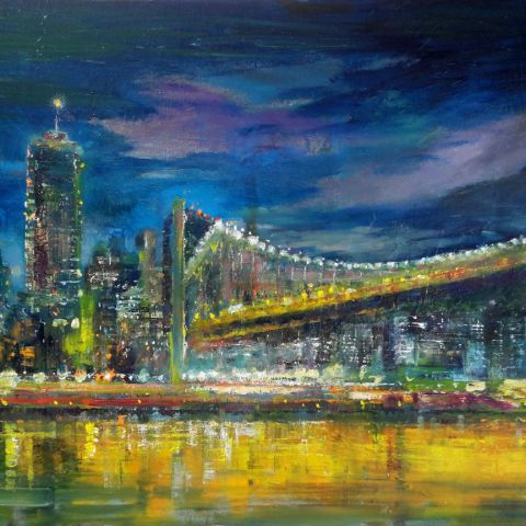 Manhattan Bridge Painting