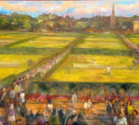 Wimbledon Tennis Championships Painting, London