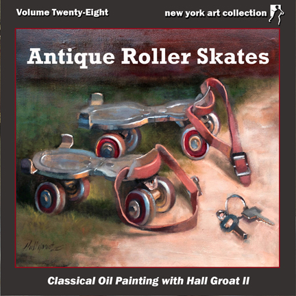 Oil Painting Video Roller Skates
