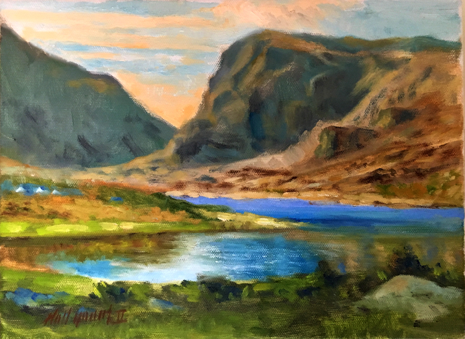 Killarney Ireland 9 x 12 in  Oil on canvas | Learn to Oil