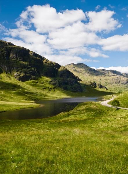 Scotland mountain landscape