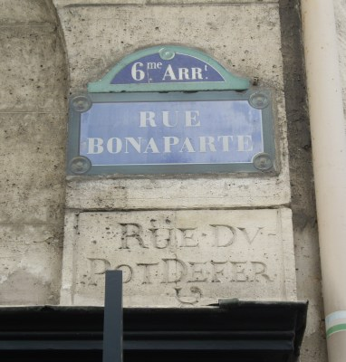 Rue Bonaparte Paris