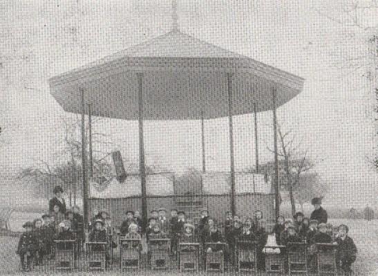 Regent's Park Bandstand School 1914