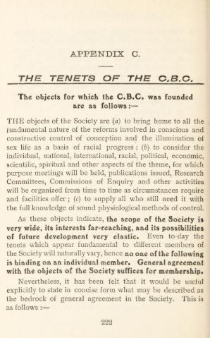 Tenets of the CBC Preamble