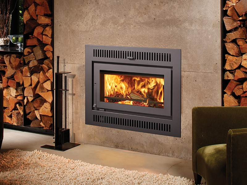 Fireplacex 42 Apex wood burning fireplace
