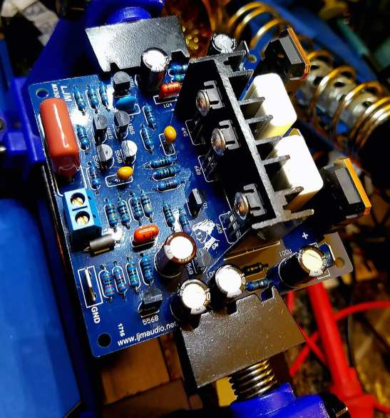 MX50 SE 100W Power Amp 95Percent Done