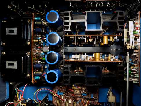 Sansui AU-517 Power Amp Restored