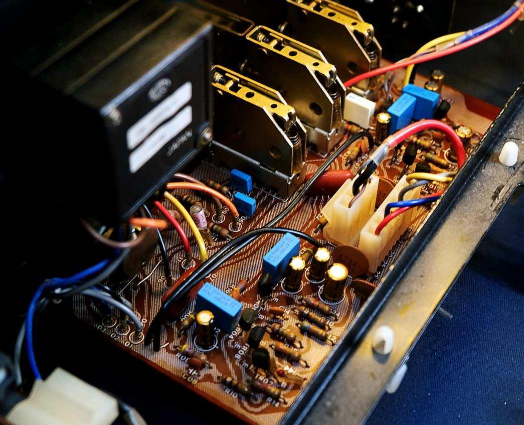 Top of Tone Control Board 1