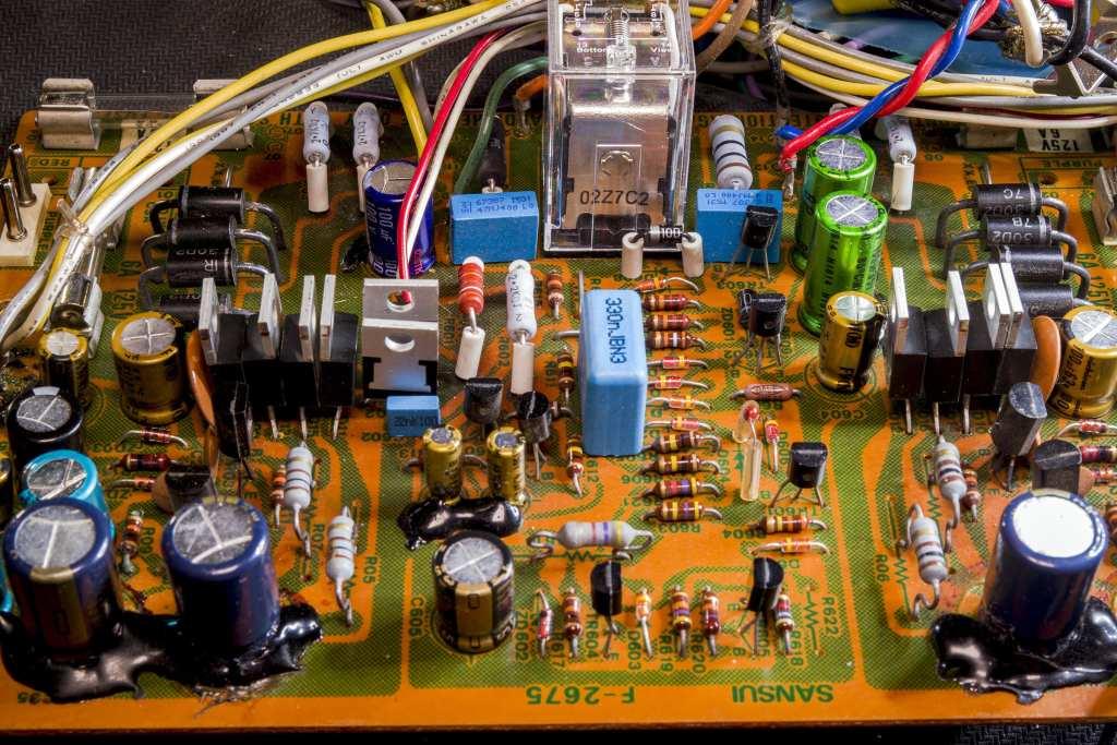 MUR1520 Diodes Installed AU-517