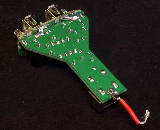 5V Charger Final Assembly soldering
