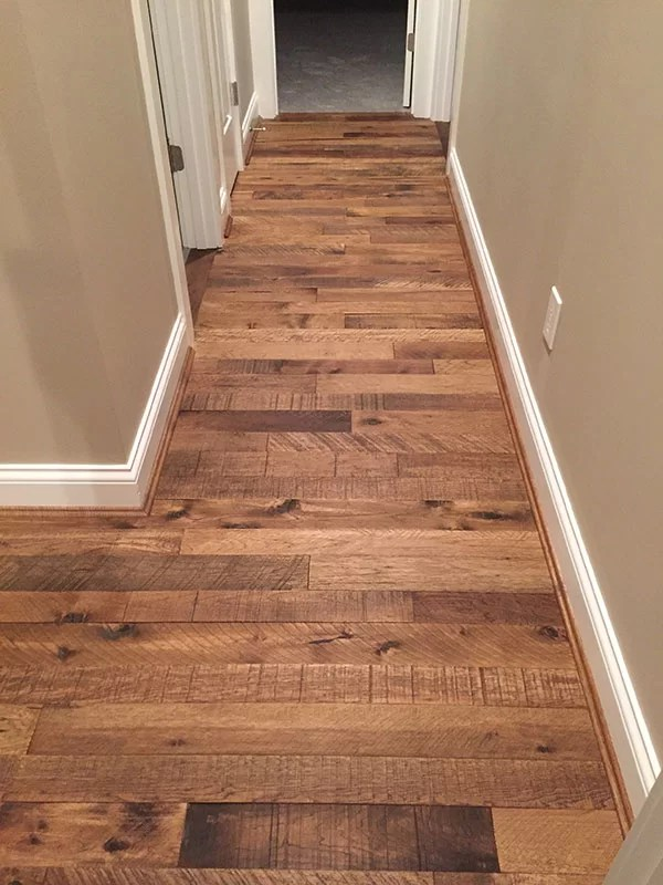 Solid wood flooring installation with hallmark floors for Real solid wood flooring