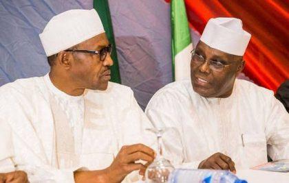 President Buhari and former Vice President Atiku