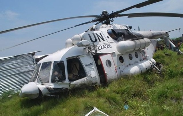 UN Helicopter Shot down by Boko Haram