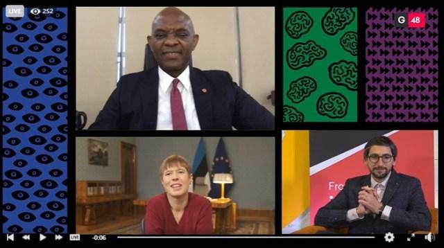 Tony Elumelu joins President of Estonia