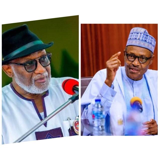 Akeredolu and Buhari