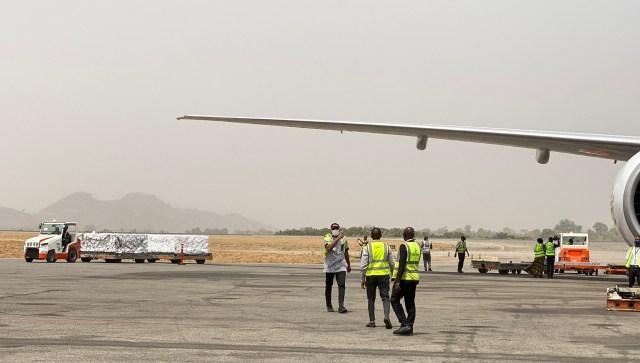 Oxford/ AstraZeneka Covid-19 vaccines arrive Nigeria