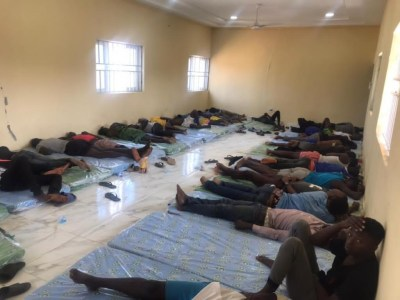 Rescued Kaduna students