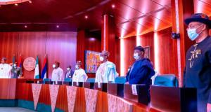 President Buhari with state governors