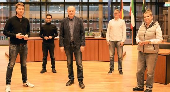 Der geschäftsführende Fraktionsvorstand der SPD im Gelsenkirchener Rat –Foto: SPD