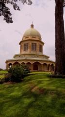The Bahai temple.
