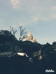 When we spotted the tip of Sacre Coeur..