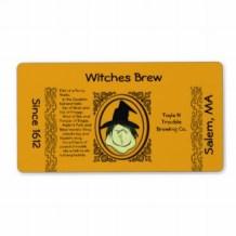 Halloween Beverage Labels