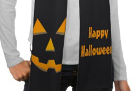 Halloween Fashion Accessories: Fun Wrap Scraves for the Holiday
