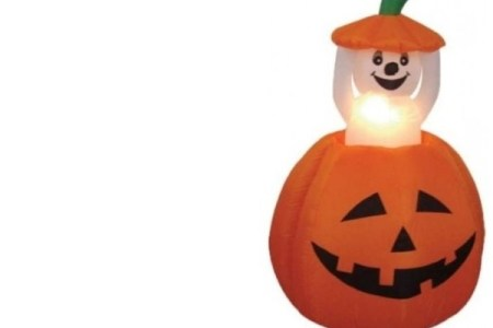 Halloween Outdoor Inflatable Pumpkin Yard Decorations