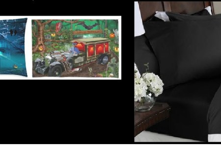 Halloween Pillowcases and Bed Sheets