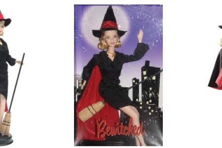 Bewitched Barbie Collector Doll Samantha for Halloween