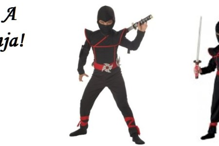 Stealth Ninja Halloween Costume for Kids