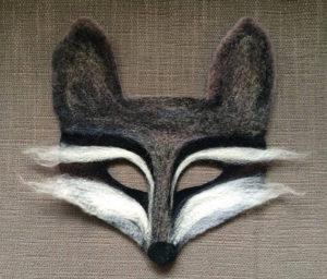 Needle Felted Animal Masks