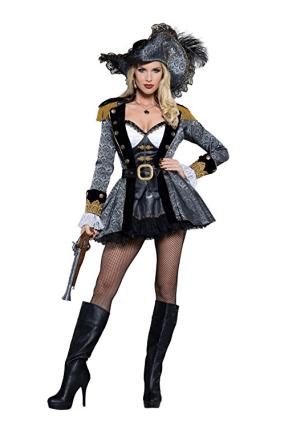 Halloween Pirate Buccaneer Costumes for Women